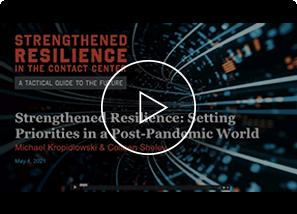 Strengthened Resilience Webinar: Setting Priorities Video Thumbnail